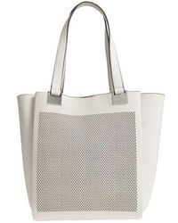 Vince Camuto - Beatt Perforated Leather Tote - Lyst