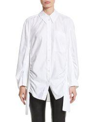Stella McCartney - Tape Detail Cotton Shirt - Lyst