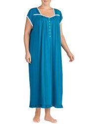 Eileen West - Long Nightgown - Lyst