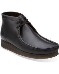 Clarks Clarks Originals Wallabee Boot - Black