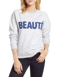 J.Crew - Beaute Sweatshirt - Lyst