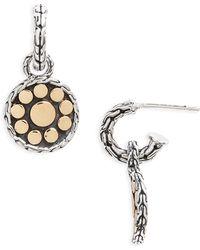 John Hardy - 'dot' Drop Earrings - Lyst