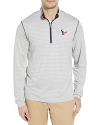 Cutter & Buck - Meridian - Houston Texans Regular Fit Half Zip Pullover - Lyst