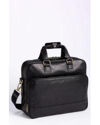 Bosca | Top Zip Leather Briefcase | Lyst