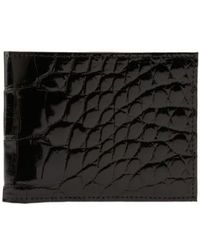 Martin Dingman - Genuine American Alligator Billfold - - Lyst