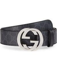 f6aab9908d5 Lyst - Gucci Belt With Interlocking G Buckle for Men