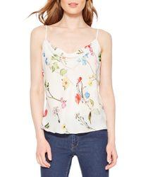 Parker - Summer Floral Silk Camisole - Lyst