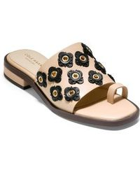 Cole Haan | Carly Floral Sandal | Lyst
