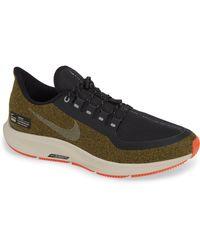 75bea341e027 Nike - Air Zoom Pegasus 35 Shield Water Repellent Running Shoe - Lyst