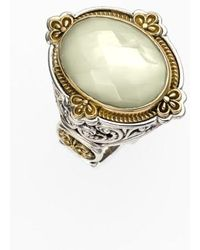 Konstantino | 'selene' Semiprecious Stone Ring | Lyst