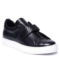Jared Lang - Sergio Laceless Strapped Sneaker - Lyst