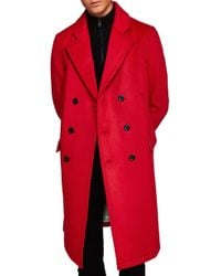 TOPMAN - Margate Oversize Coat - Lyst