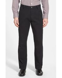 Cutter & Buck - 'beckett' Straight Leg Washed Cotton Pants - Lyst