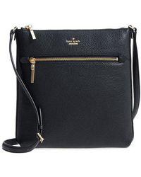 Kate Spade - Oakwood Street - Malia Leather Crossbody Bag - Lyst