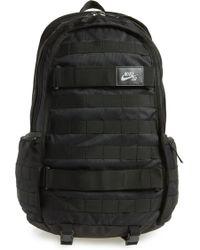 Lyst - Nike Sb Rpm Skateboarding Backpack in Black for Men 84ea98a643a20