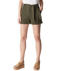 Whistles - Linen Shorts - Lyst