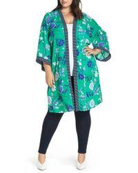 Evans - Pattern Mix Kimono - Lyst