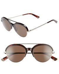 Web - 51mm Aviator Sunglasses - Colored Havana/ Roviex - Lyst