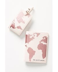 Anthropologie - Luggage Tag & Passport Cover Set - - Lyst