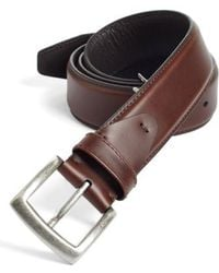 Johnston & Murphy - Calfskin Belt - Lyst