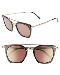 Oliver Peoples - Dacette 50mm Square Aviator Sunglasses - Lyst