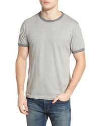 French Connection - Bens Slim Fit Ringer T-shirt - Lyst