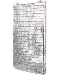 Nina - Calgary Crystal Embellished Crossbody Smartphone Pouch - - Lyst