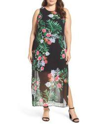 Vince Camuto - Havana Tropical Maxi Dress - Lyst