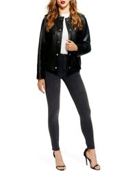 TOPSHOP - Leigh Skinny Jeans - Lyst