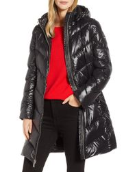 MICHAEL Michael Kors - Packable Quilted Down Jacket, Black - Lyst