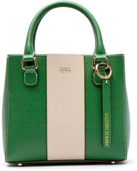 Frances Valentine - Small Chloe Stripe Leather Tote - Lyst