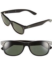 b4b903e8c7 Lyst - Ray-Ban  original Wayfarer - Denim  50mm Sunglasses in Black ...