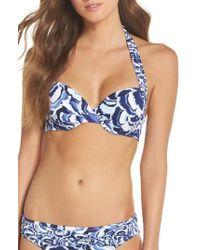 Tommy Bahama - Pansy Petals Halter Bikini Top - Lyst
