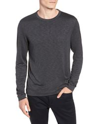 Theory - Gaskell Regular Fit Long Sleeve T-shirt - Lyst