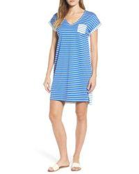Vineyard Vines - Mixed Stripe T-shirt Dress - Lyst