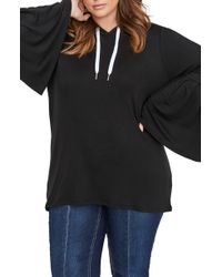 Addition Elle - Addition Elle Love & Legend Bell Sleeve Hoodie - Lyst
