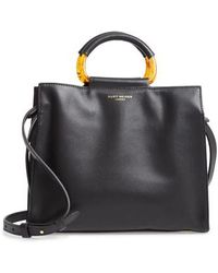 Kurt Geiger - Harriet Leather Box Tote - Lyst