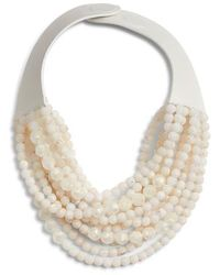 Fairchild Baldwin - Marcella Beaded Collar Necklace - Lyst