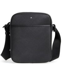 Montblanc - Reporter Leather Bag - Lyst