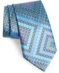 Ermenegildo Zegna - Quindici + Quindici Medallion Silk Tie - Lyst