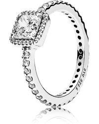 PANDORA - Timeless Elegance Ring - Lyst