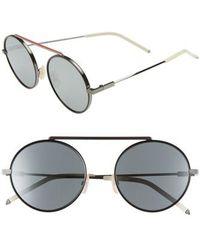 0168625ef5 Lyst - Gucci 61mm Aviator Sunglasses - Ruthenium for Men