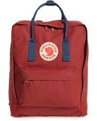 Fjallraven - Kånken Peach Backpack By Women's Backpack In Pink - Lyst