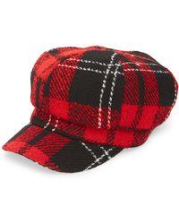 TOPSHOP - Lumberjack Baker Boy Hat - Lyst