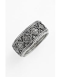 Konstantino - 'classics' Clover Etched Ring - Lyst