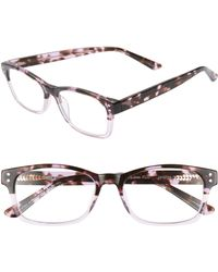 Corinne Mccormack - Edie 52mm Reading Glasses - Lilac Demi Fade - Lyst