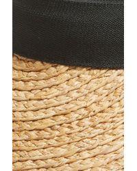 Nordstrom - Plaited Straw Visor - Lyst