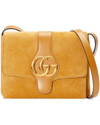966865e795f Lyst - Gucci Dionysus Medium Suede Shoulder Bag in Brown
