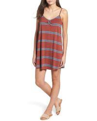 RVCA - Downer Stripe Sundress - Lyst