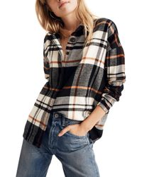 Madewell - Bromley Flannel Shirt - Lyst